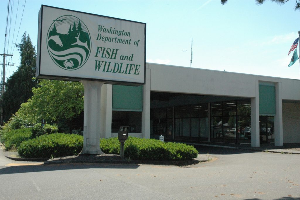 fish for office. The Washington Department Of Fish And Wildlife Will Leave Its Office At 2108 Grand Blvd. For