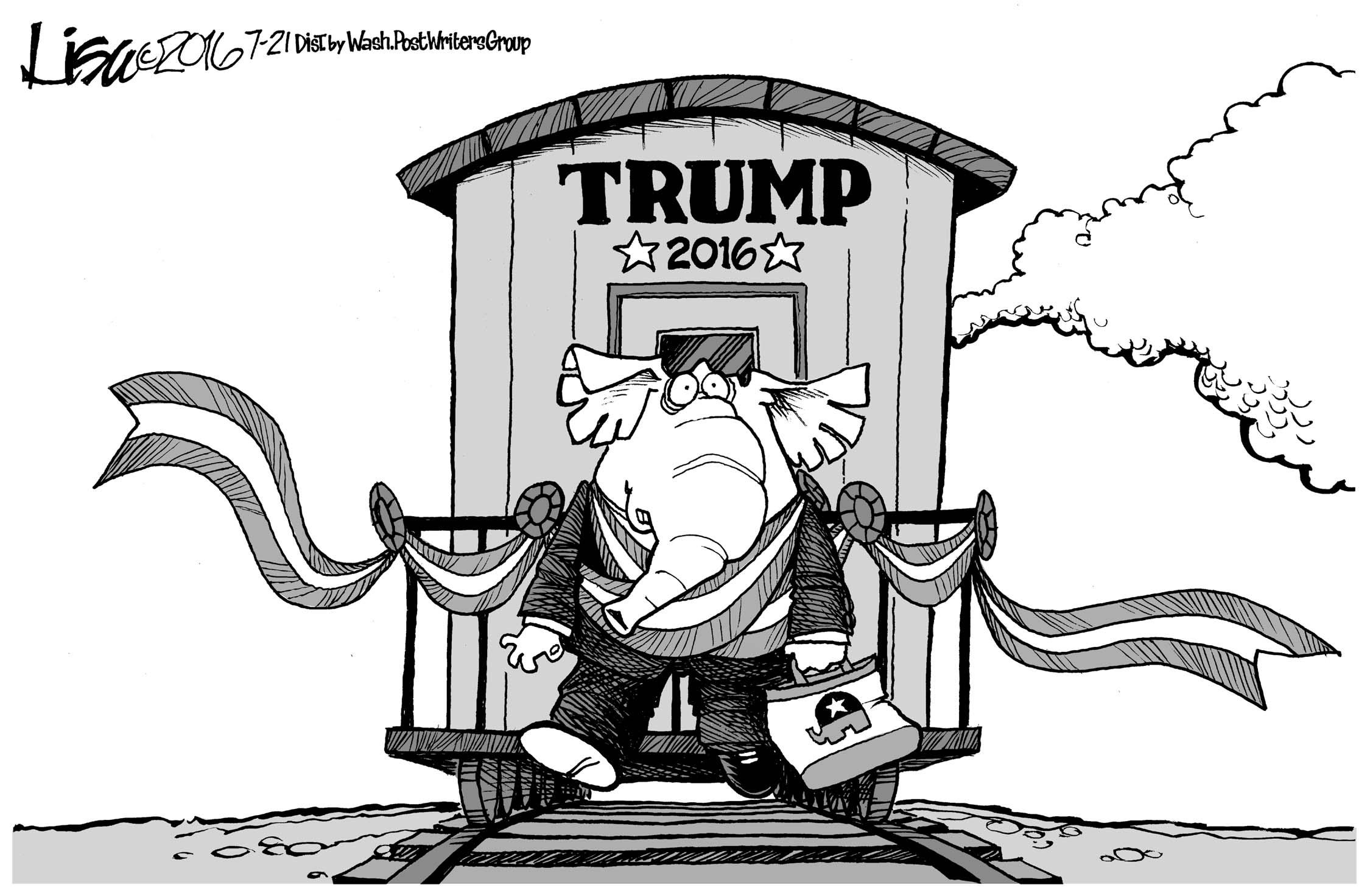 July 23: Trump Party