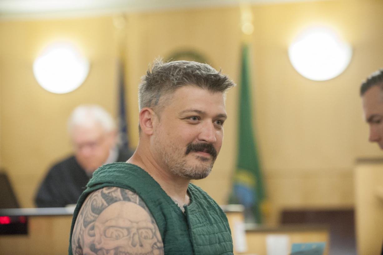 Luyster was in Cowlitz court 8 days before murders