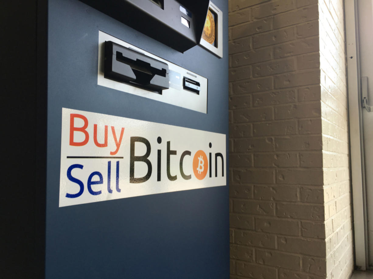 The first bitcoin ATM in Southwest Washington can be found at Vancouver Mall just inside the first-floor entrance facing Cinetopia. The kiosk allows people to trade cash for the digital currency and vice versa.