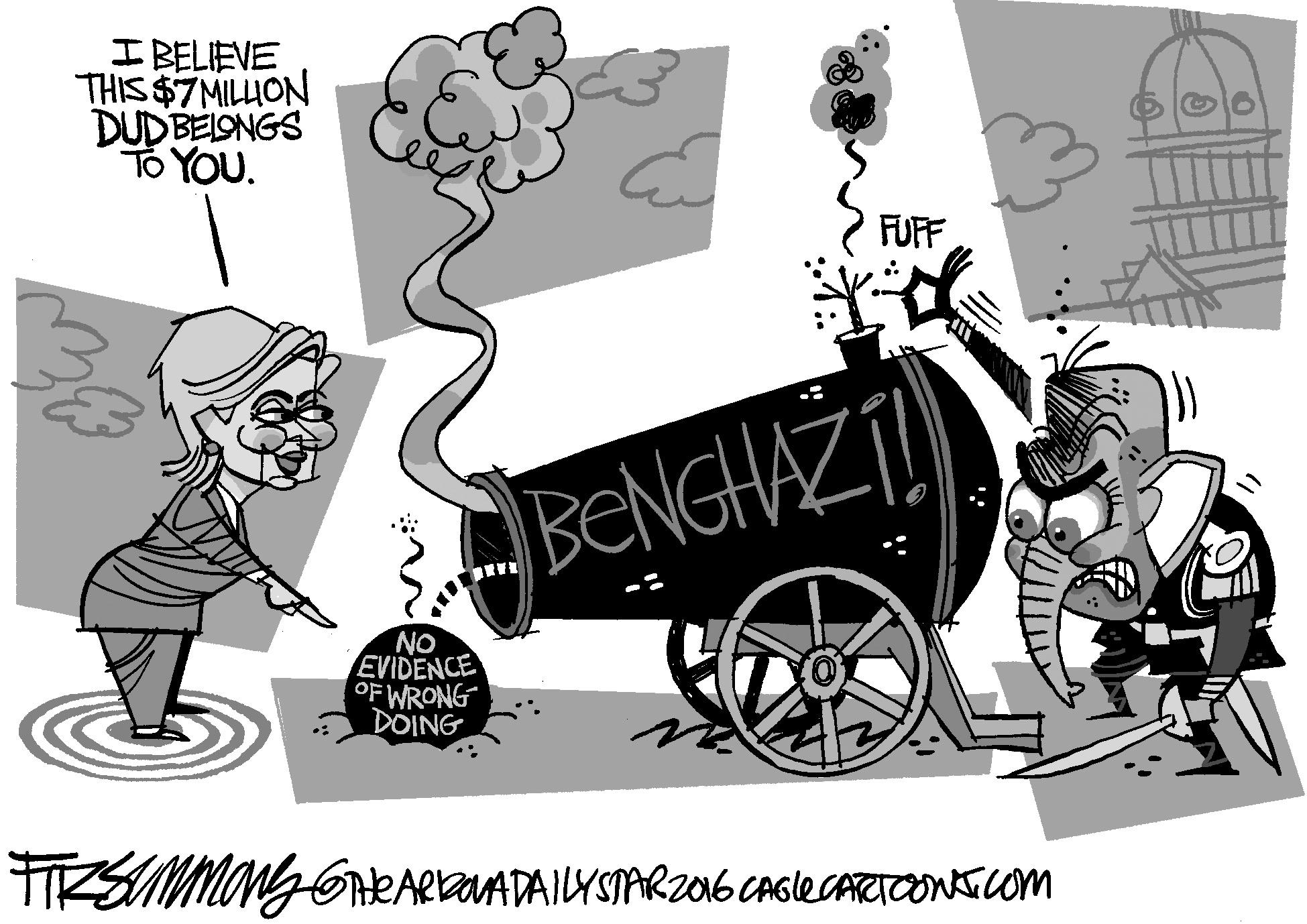 July 2: Benghazi Dud