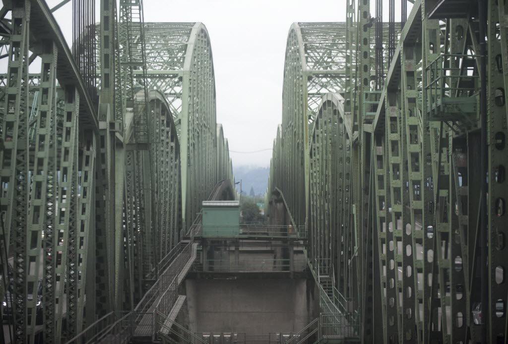 The Interstate 5 Bridge.
