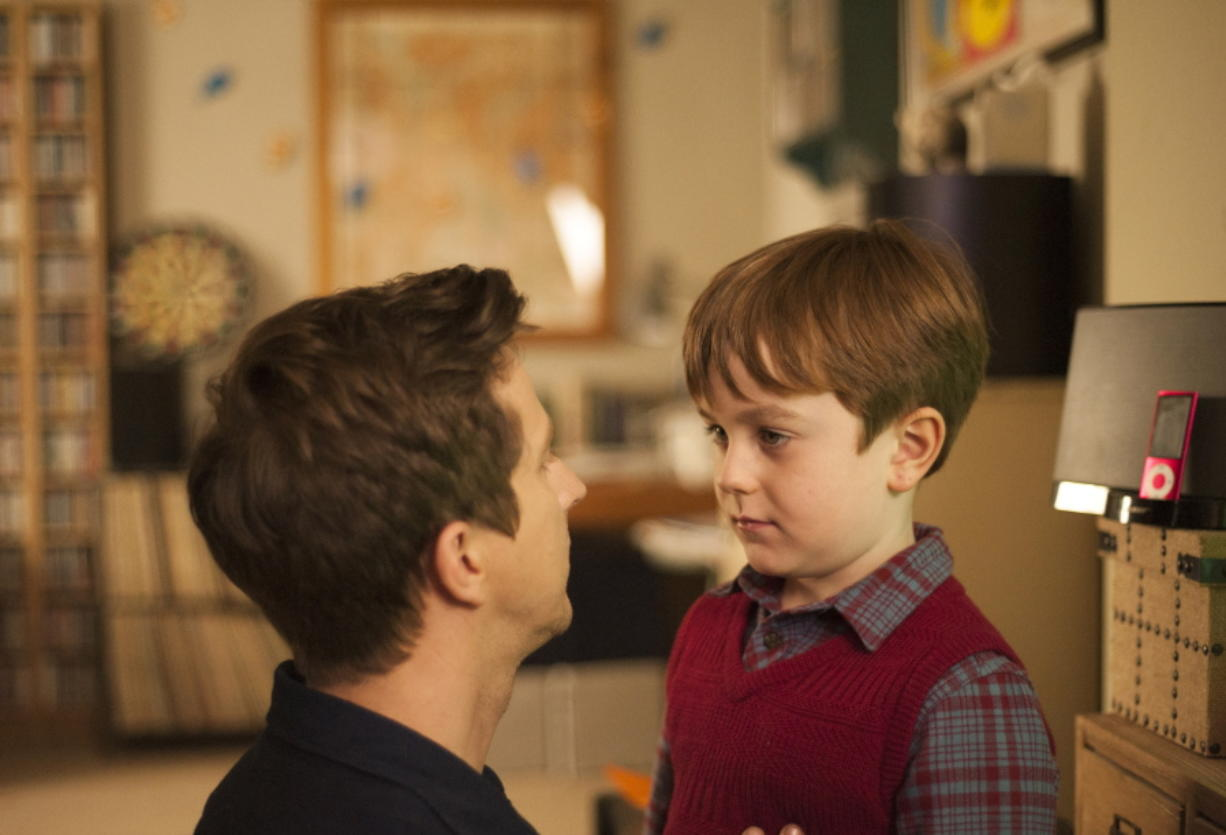 """Lee Ingleby, left, and Max Vento star in the series """"The A Word."""" (Photos by Rory Mulvey/Sundance TV)"""