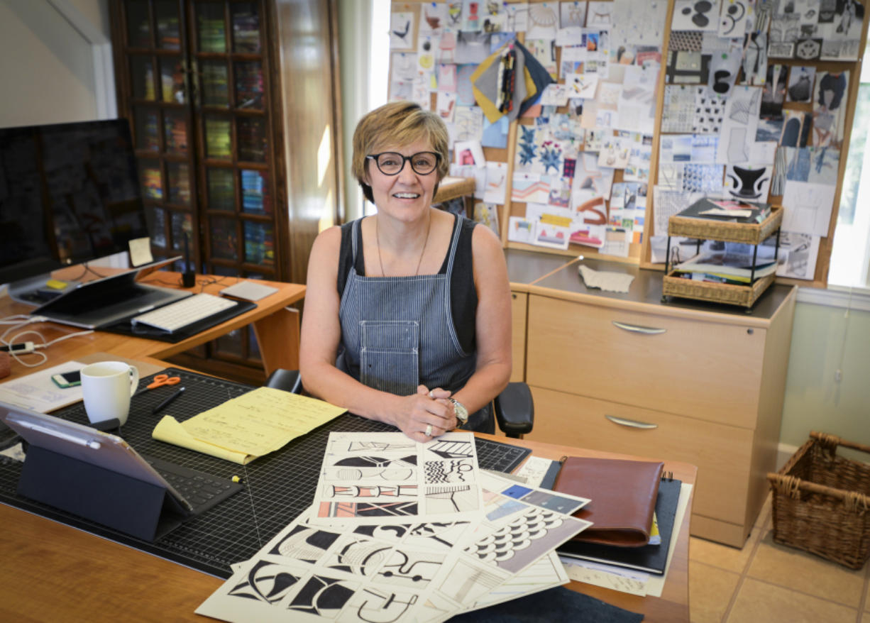 Deb Spofford worked in banking and accounting before developing her artistic side. (Photos by Ariane Kunze/The Columbian)
