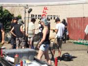 """""""Portlandia"""" filming in Vancouver."""