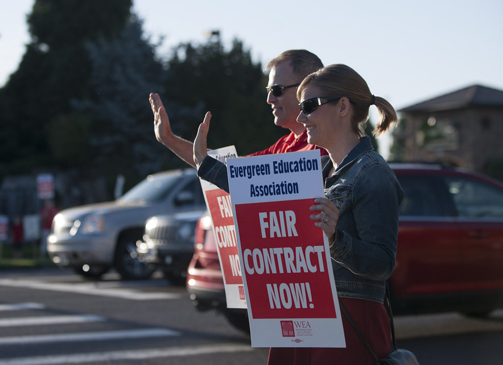 Evergreen Schools Expected To File Injunction To Prevent Strike
