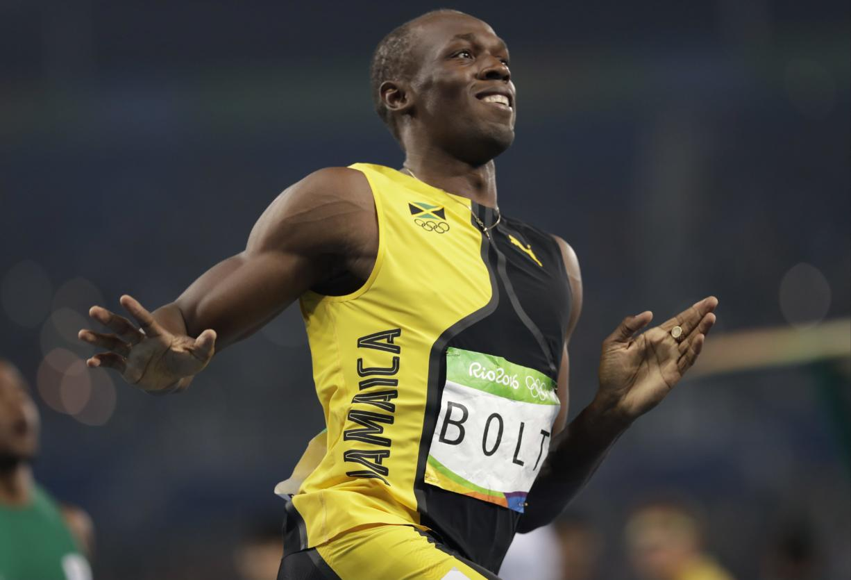 Bolt shines bright, wins another gold in Olympic 100 ...