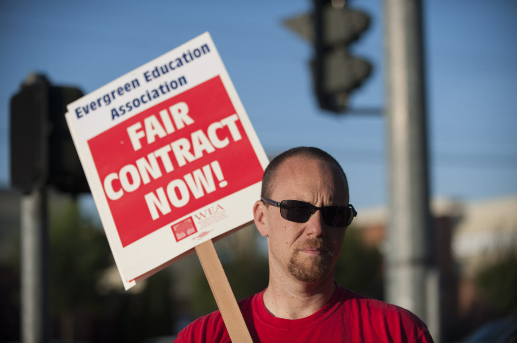 Evergreen Union Reach Contract Agreement Teachers Vote Tuesday