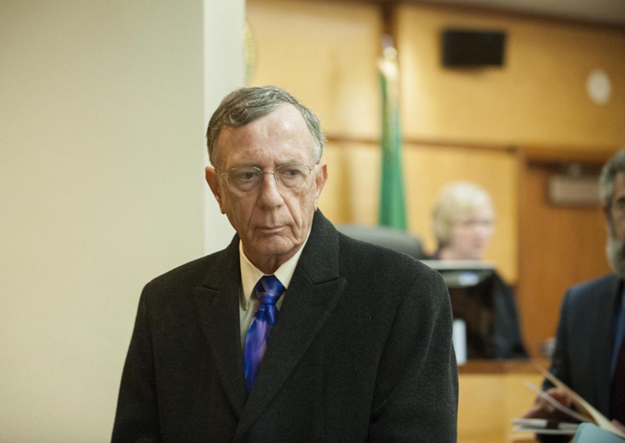 Former Clark County Judge John Wulle (Columbian files)
