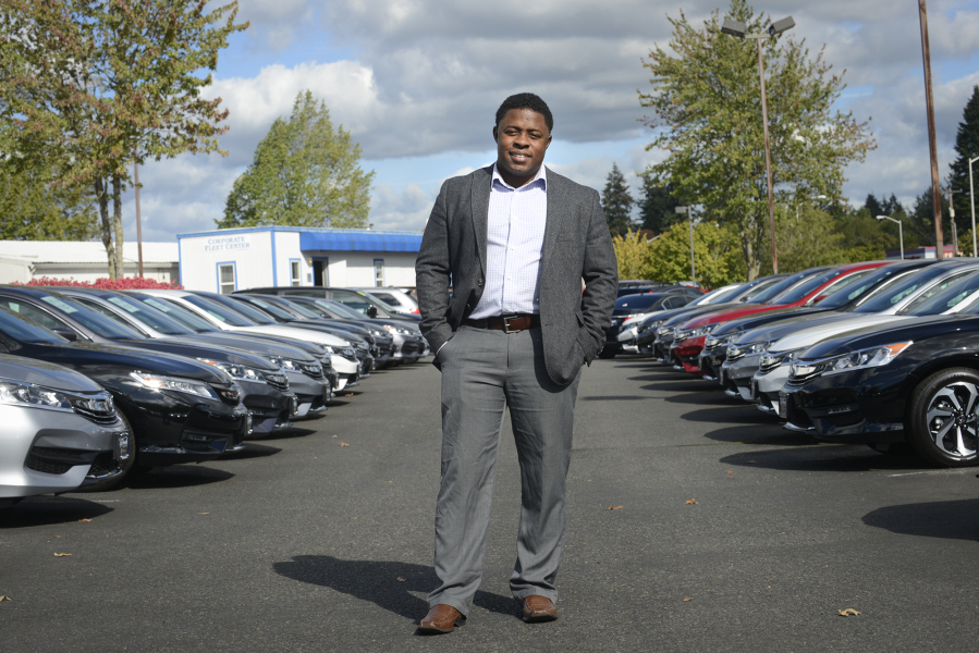 Milton Copeland, A Sales Manager At Dick Hannah Honda In Vancouver, During  Work In