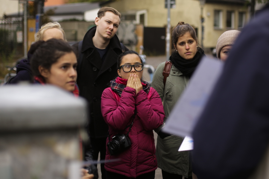 Berlin Through New Eyes Syrian Refugees Offer Guided Tours The