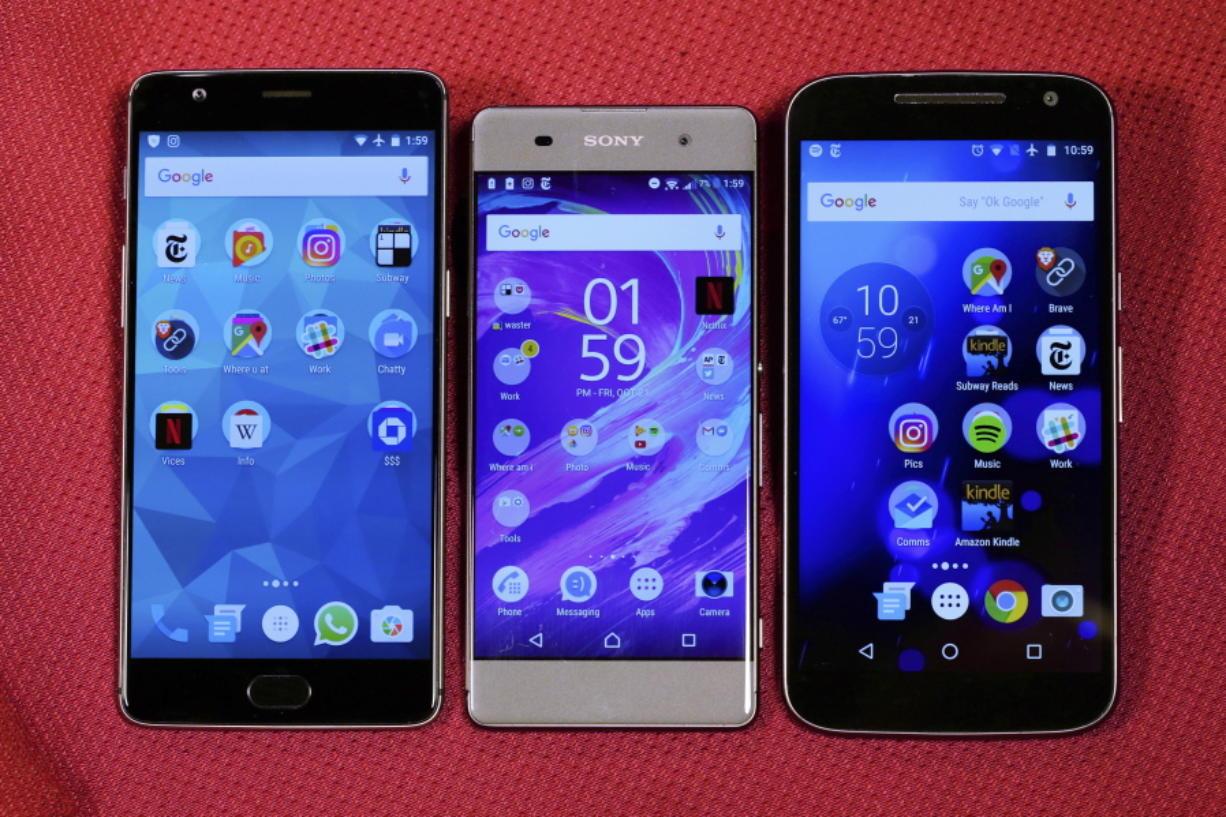 Tech Test: Pros, cons of midrange cellphones - Columbian com