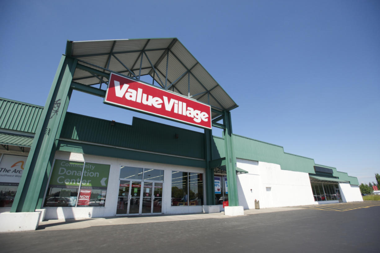 Value Village in central Vancouver closed in 2016 to make way for a Dodge Ram truck dealership.
