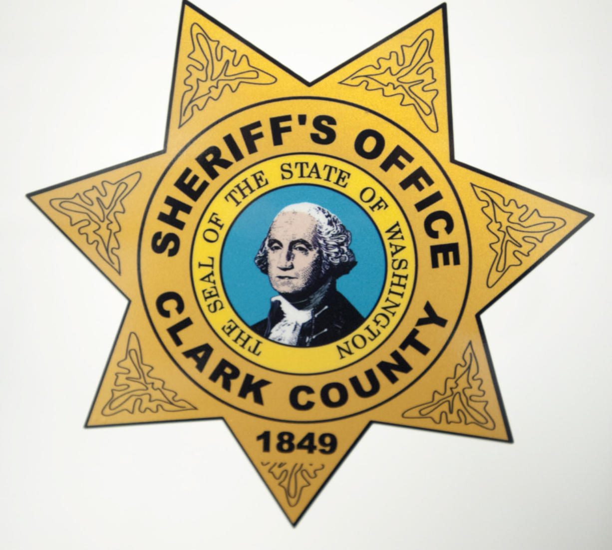 The Clark County Sheriff's Office changed the decals on patrol vehicles in 2015.