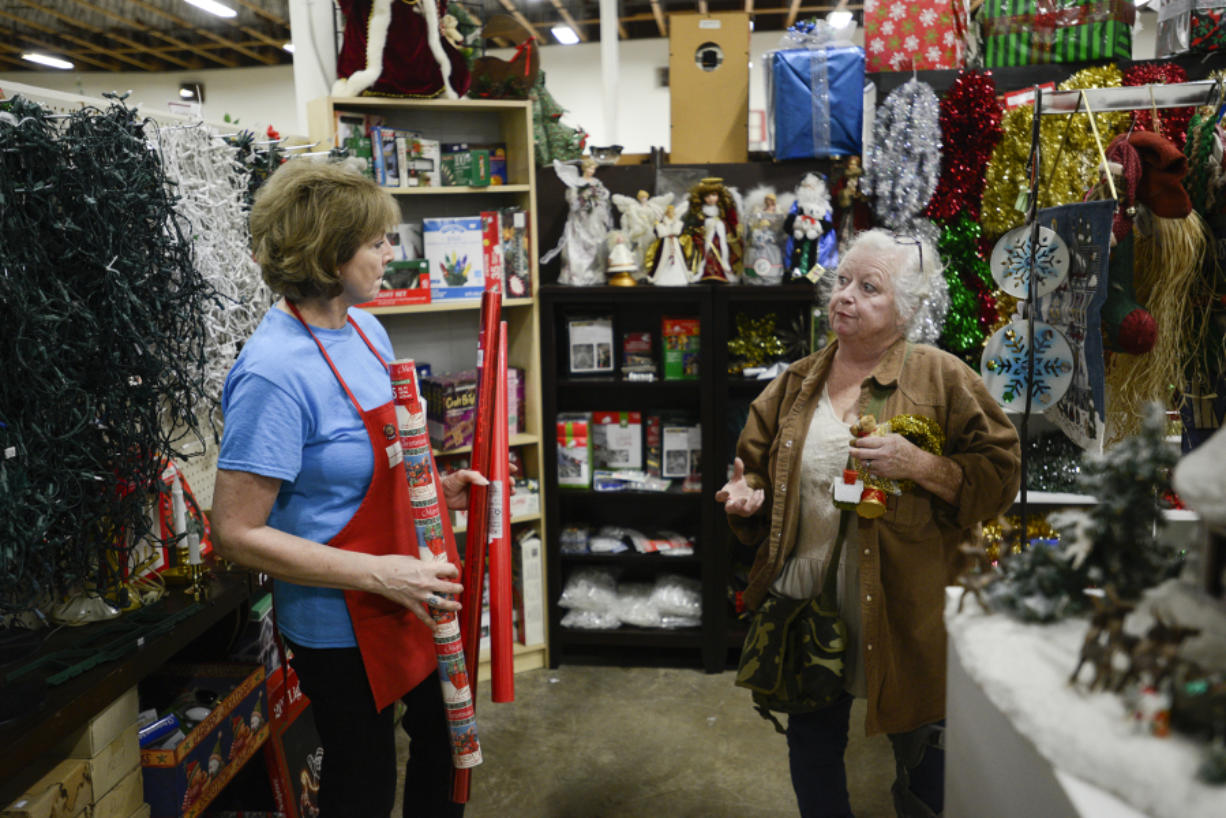 A Christmas Tail, a holiday store-within-a-store, opened at ReTails Thrift Store in Vancouver this month.