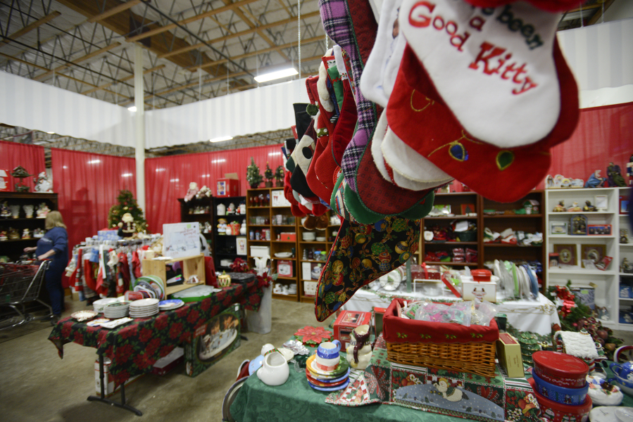 a christmas tail opened at retails thrift store this month in vancouver the holiday store - A Christmas Tail