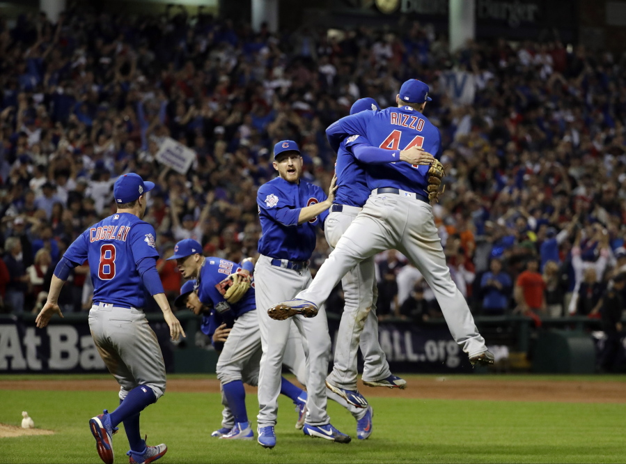 Cubs break curse in game for ages - Columbian com