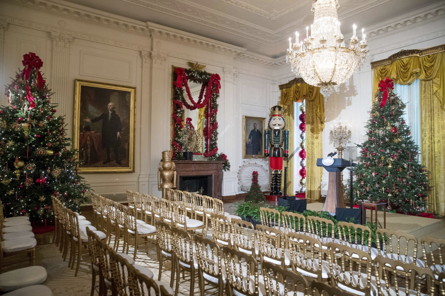 this year s white house christmas theme the gift of the holidays