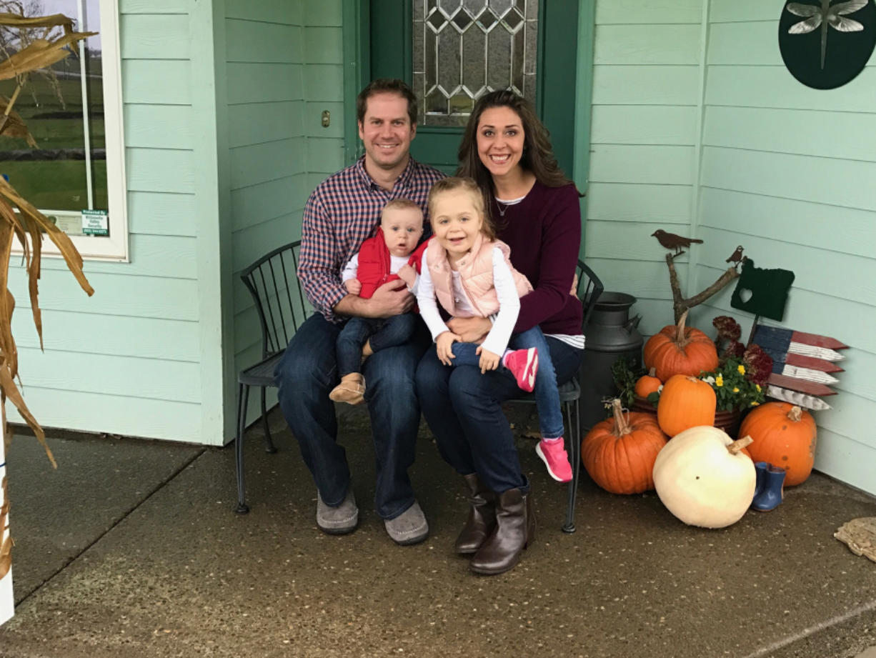 U.S. Rep. Jaime Herrera Beutler, R-Camas, and her family. (Contributed photo)
