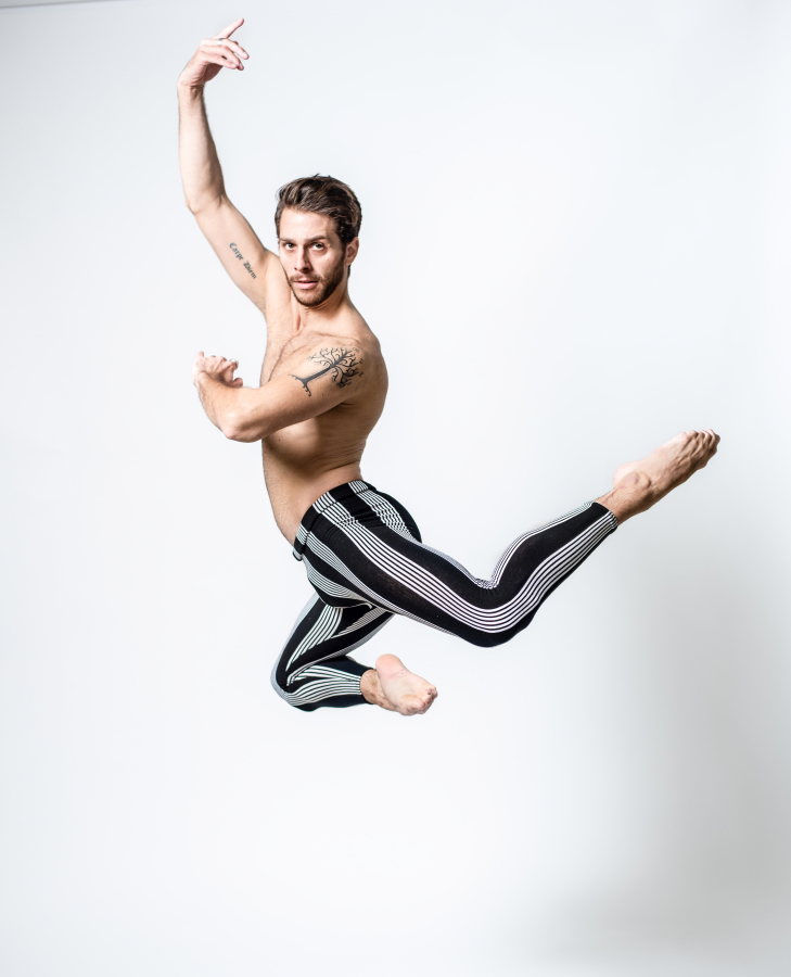 02d4909e5285f Corey Landolt, a dancer from the Washington Ballet shows off his tattoos.  MUST CREDIT