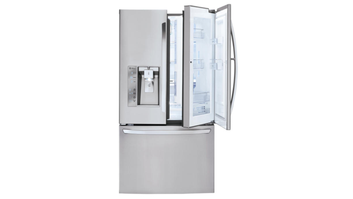 The French-door style, which has two separate doors for the fresh compartment and bottom freezer, has become the most popular style for homeowners who can afford the higher price tag. LG 3-Door French Door Refrigerator with Door-in-Door, model LFXF32766S, $3,999, www.lg.com.