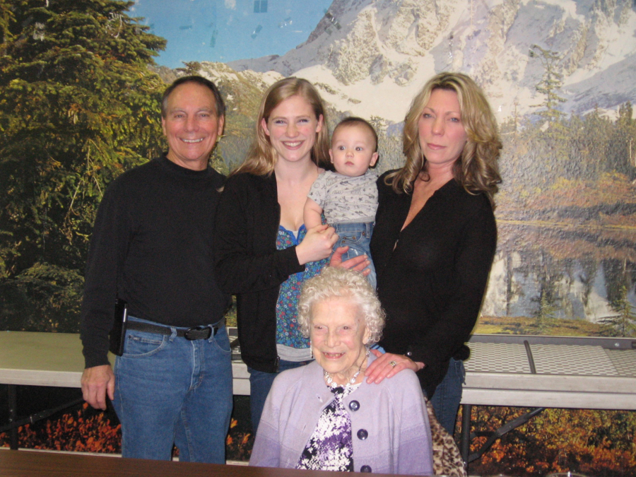 Five Generations Seekins Family The Columbian