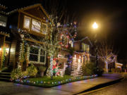 It's a neighborhood tradition that most every home on 51st Street is decorated for the holidays -- similar to Peacock Lane in Portland.