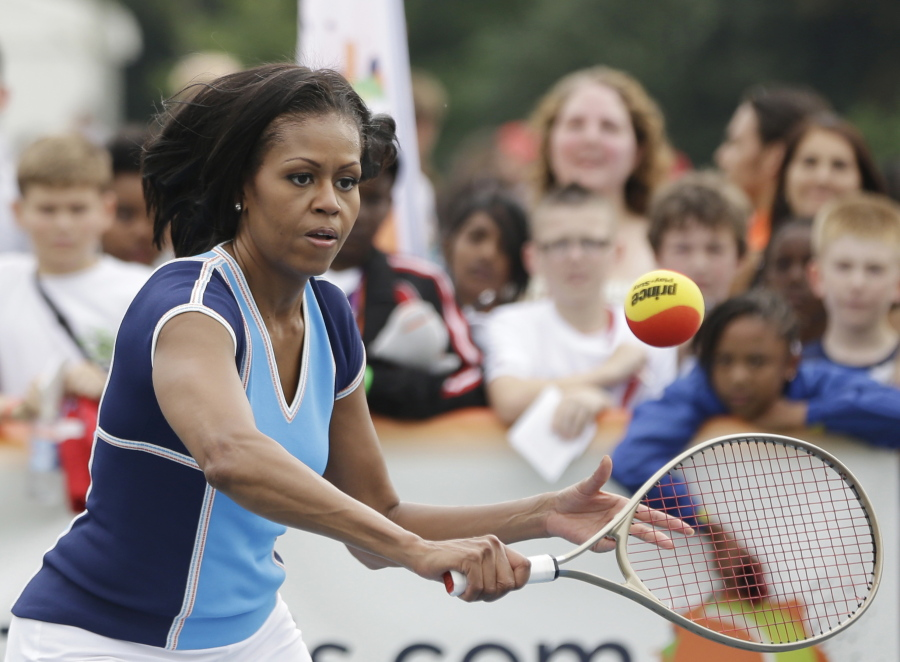 Michelle Obama Offers Empowering Example For Girls  The Columbian-7346