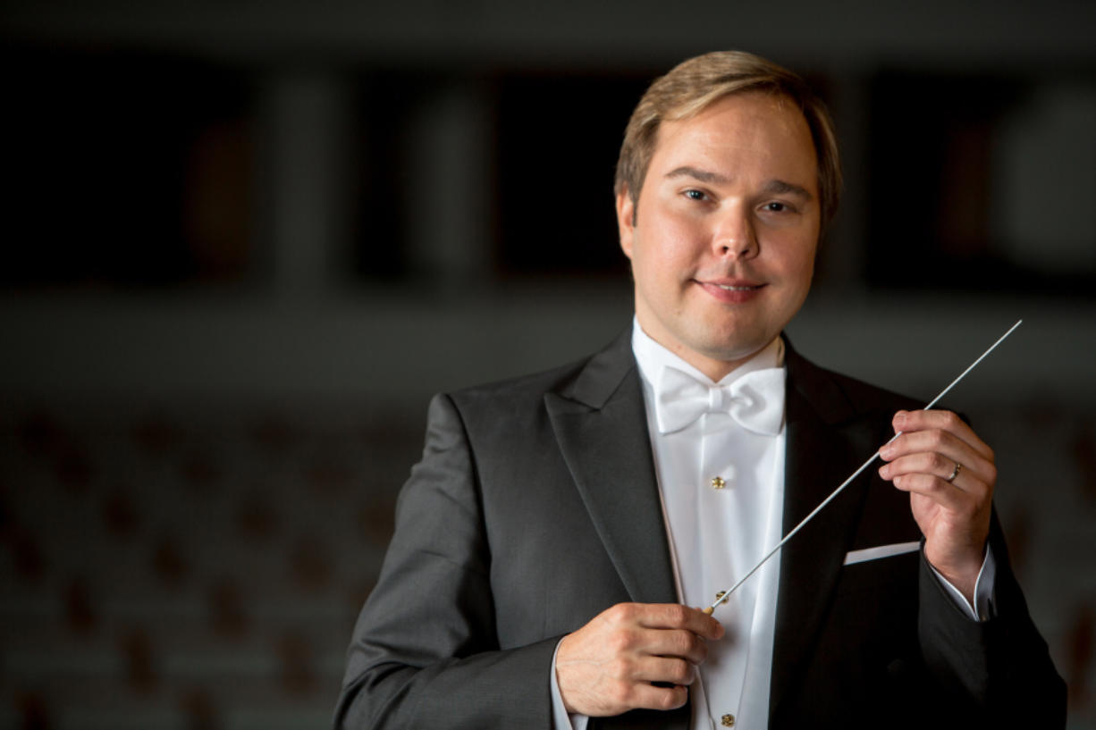 Guest conductor Marcelo Lehninger (Terry Johnston)