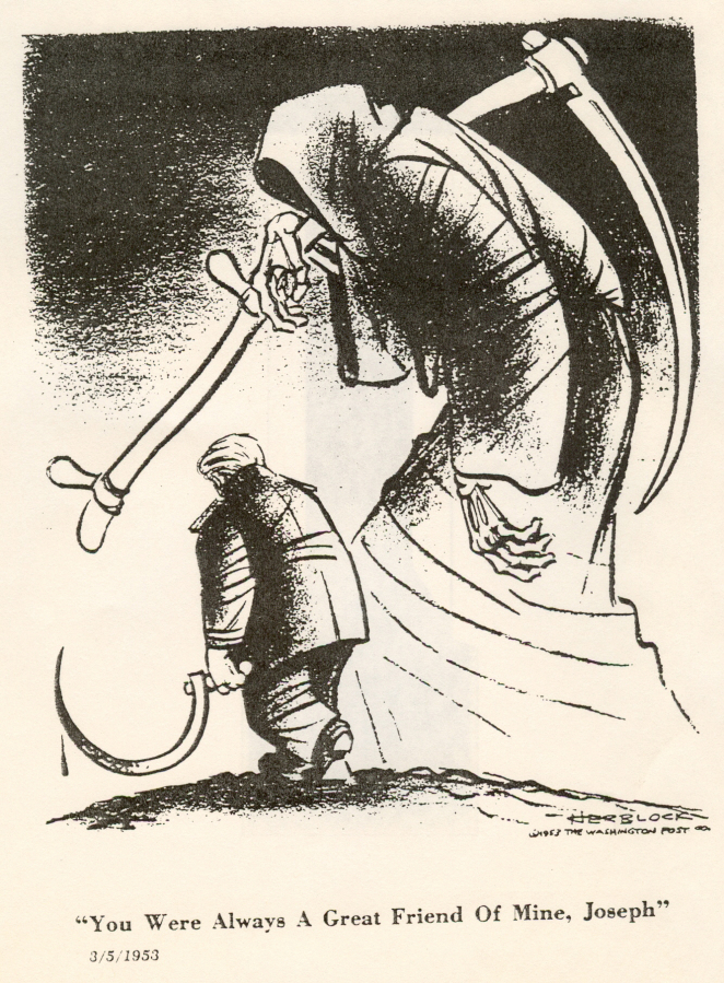 Where Is Herblock When We Need Him >> Works Of Influential Political Cartoonist Herblock On Display In