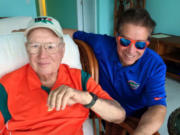 I often visited my mentor, Joe Workman.