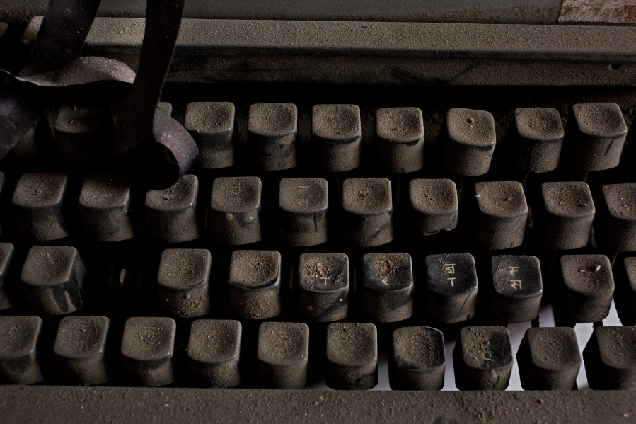 For Indias Typewriters The Ribbon May Have Finally Run Out The