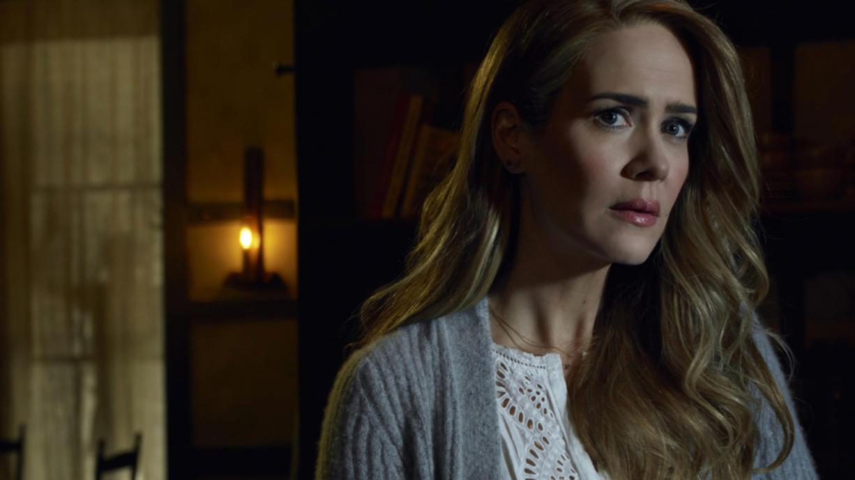 "Emmy-winning actress Sarah Paulson will return in Season 7 of ""American Horror Story."" (Frank Ockenfels/FX)"