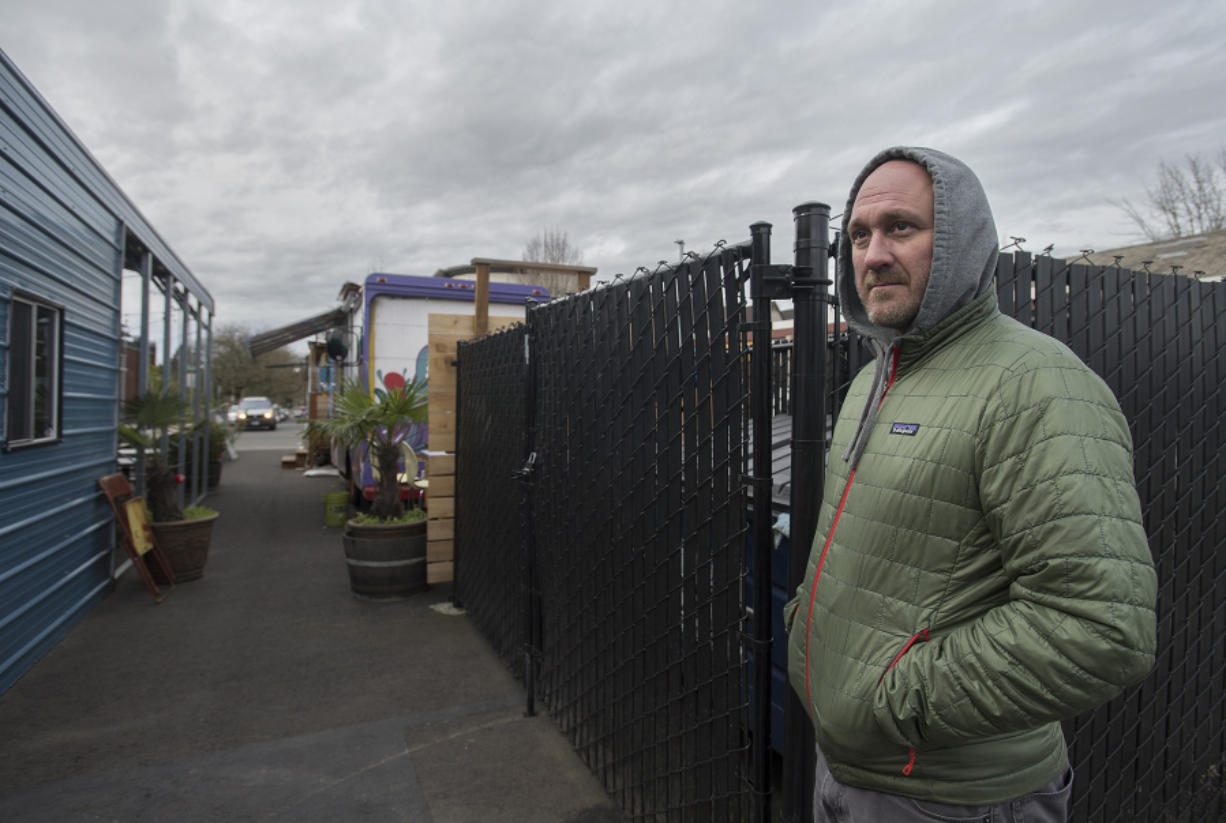 Shull said the two spills in December interrupted his business and were problematic to clean up. He has asked the city of Vancouver to put a concrete barrier along the back of his business, Trap Door Brewing.