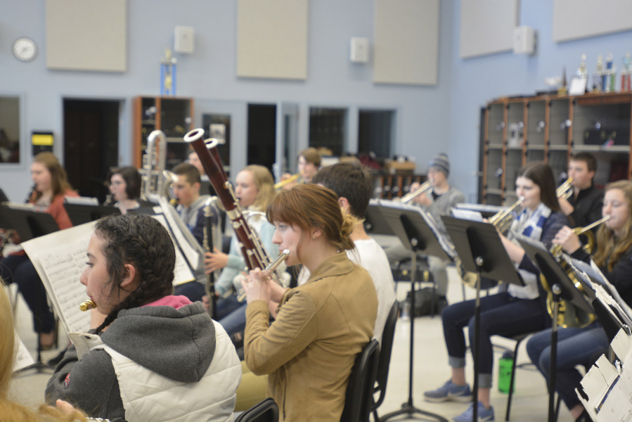 Hockinson High School Invests In Music With High Tech Band Room