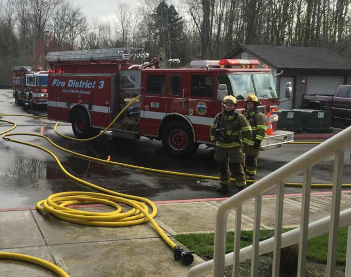 Clark County Fire District 3's call volume has increased almost 40 percent in the past 10 years, the district said, prefacing a likely levy lid-lift proposal, which would mean a hike in district homeowners' property taxes.