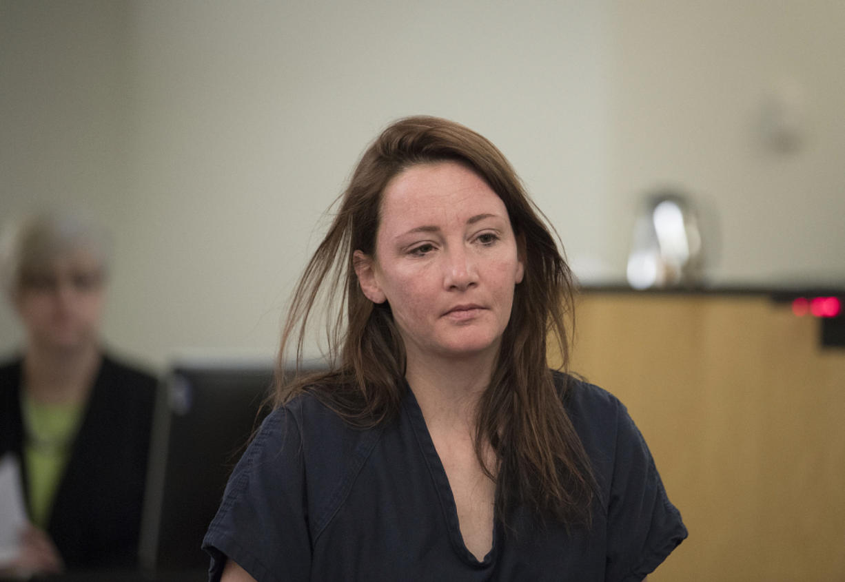 Vehicular homicide suspect Jessica Lyn Bankhead (Columbian files)