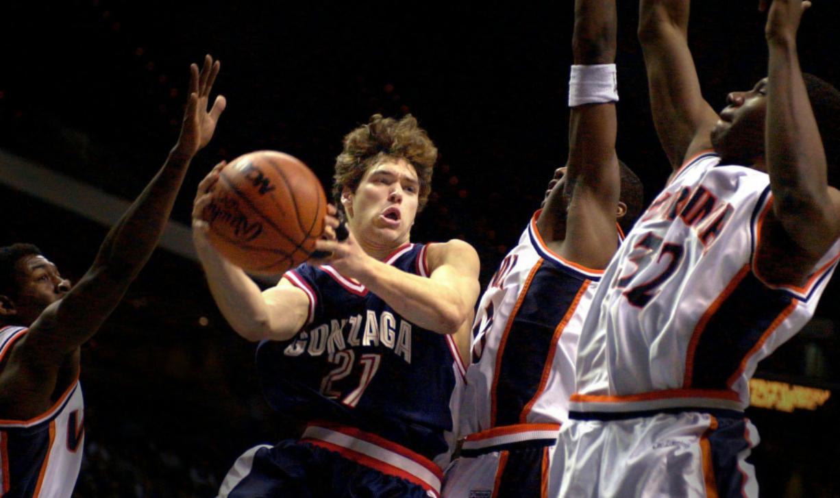 Dan Dickau played two seasons at Gonzaga, becoming an All-American in 2002.