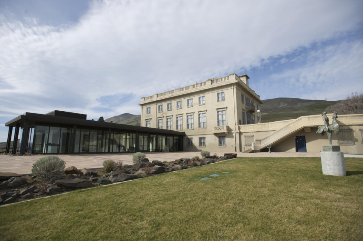 The Maryhill Museum of Art, near Goldendale, is a stunning spot on the north side of the Columbia River Gorge. The exhibits inside the building are pretty stunning, too.