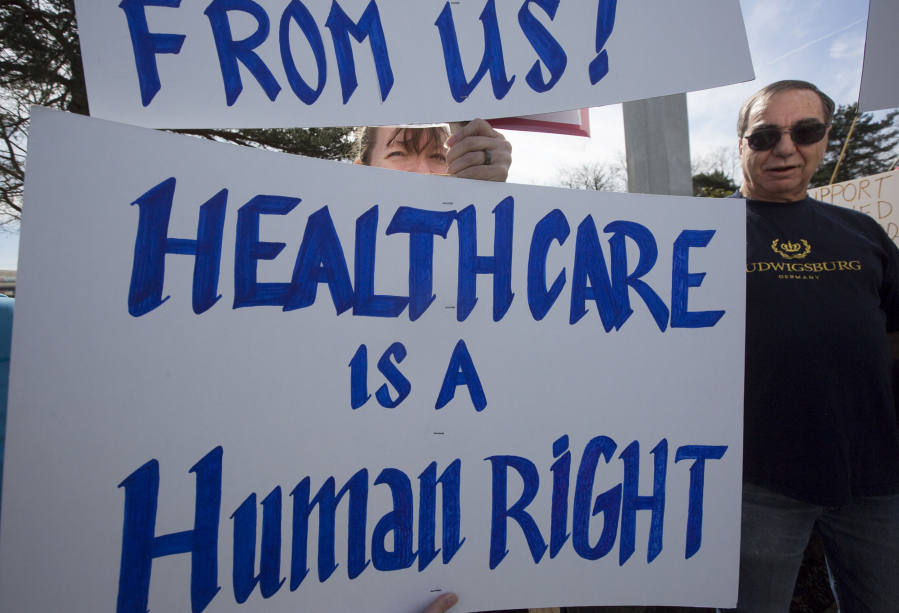 Affordable Health Care >> Groups In Clark County Rally For Affordable Health Care The Columbian