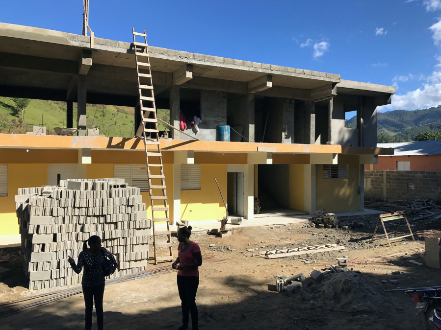 Superintendent Helps Build House In Dominican Republic