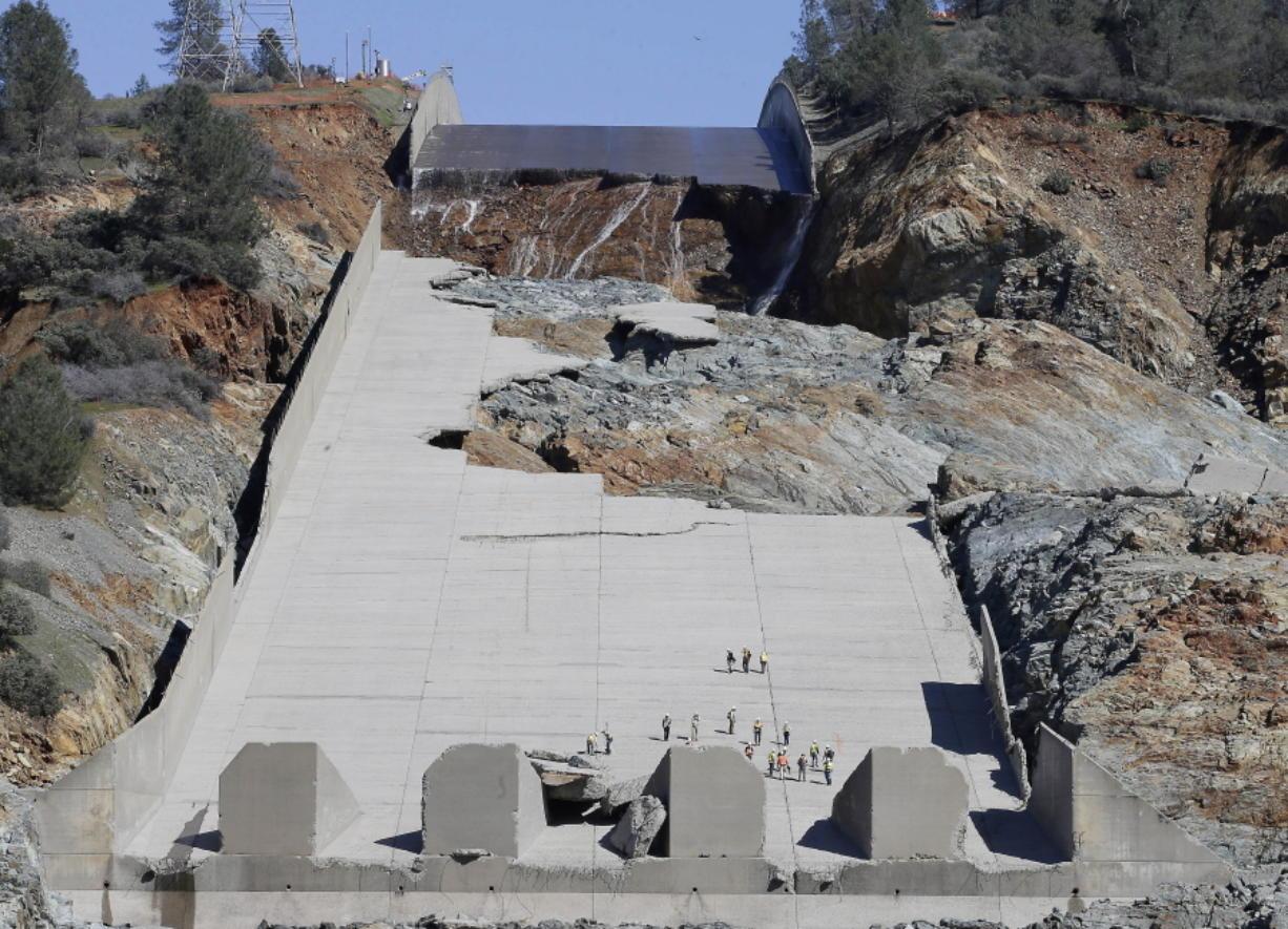Report: Clock is ticking on dam repair in California