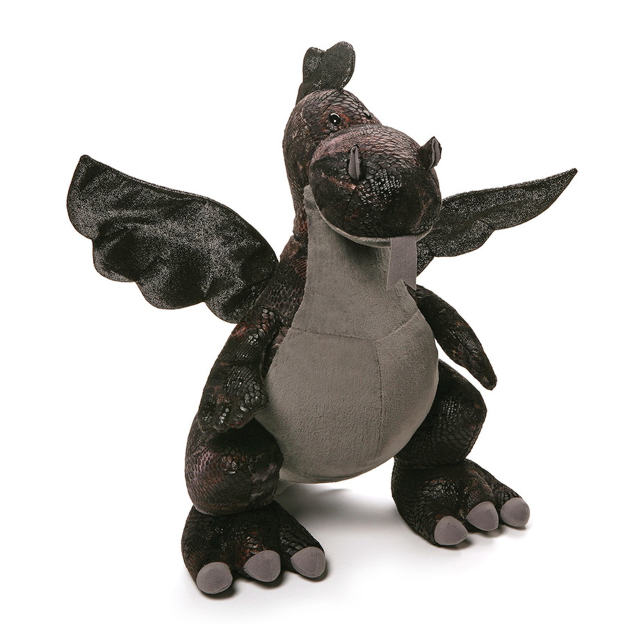 New York Toy Fair Stuffed With Plush Playthings The Columbian Gund Pusheen Sushi Sparx Dragon Has Fur Embossed Realistic Scales And