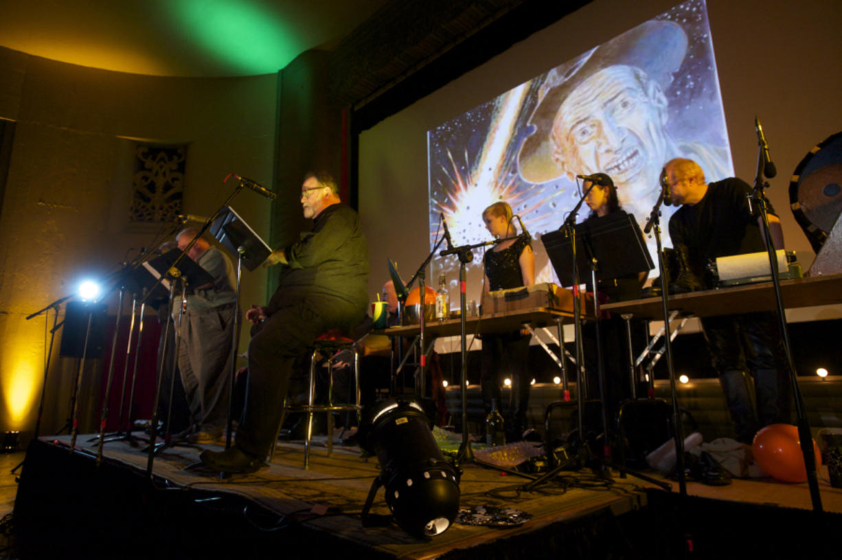 """""""The War of the Worlds,"""" presented every Halloween by Willamette Radio Workshop, is a weird story, but things will get even weirder at the Kiggins Theatre on April 26 with the presentation of """"City of Weird,"""" an anthology of five strange tales about Portland."""