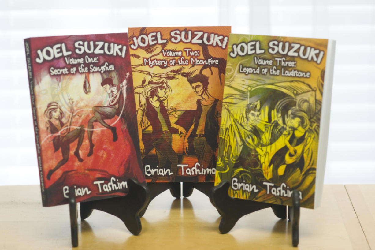 Three books are finished, but Brian Tashima now envisions a total of 11 Joel Suzuki adventures.