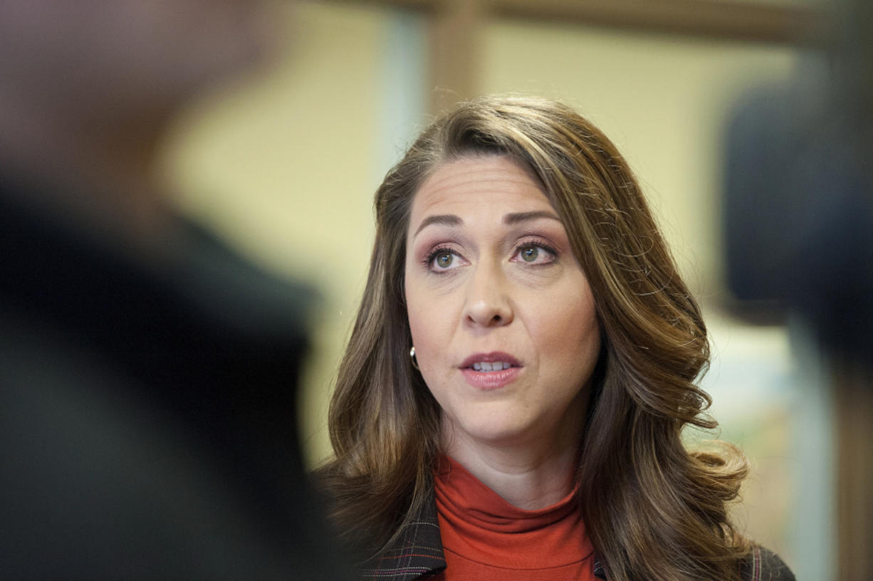 U.S. Rep. Jaime Herrera Beutler R-Battle Ground. (Amanda Cowan/The Columbian)
