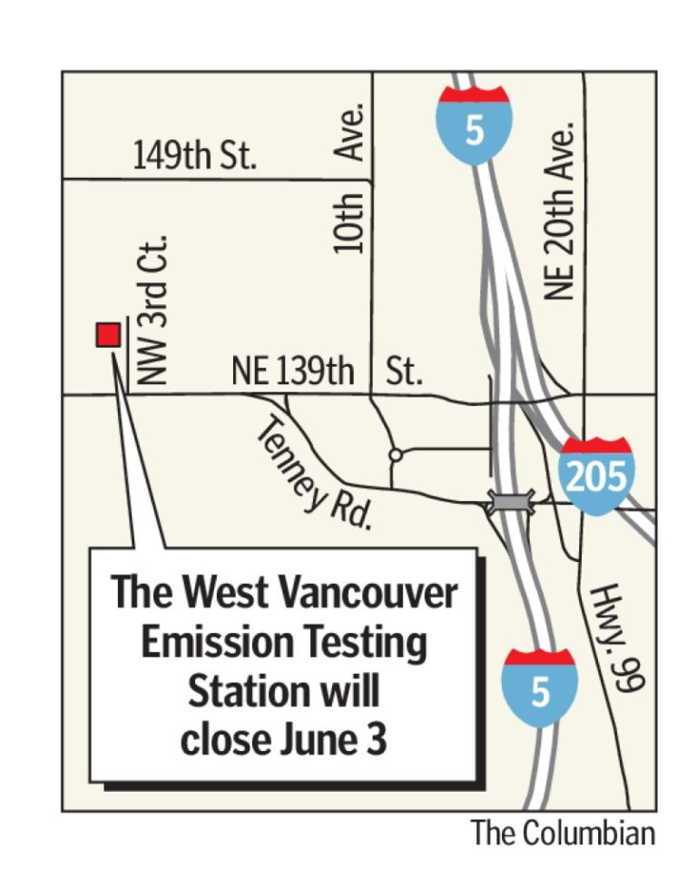 State vehicle emission tests to end - Columbian com