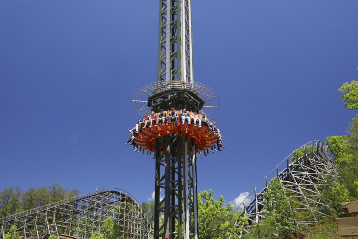 New theme park fun opening around U S  - Columbian com
