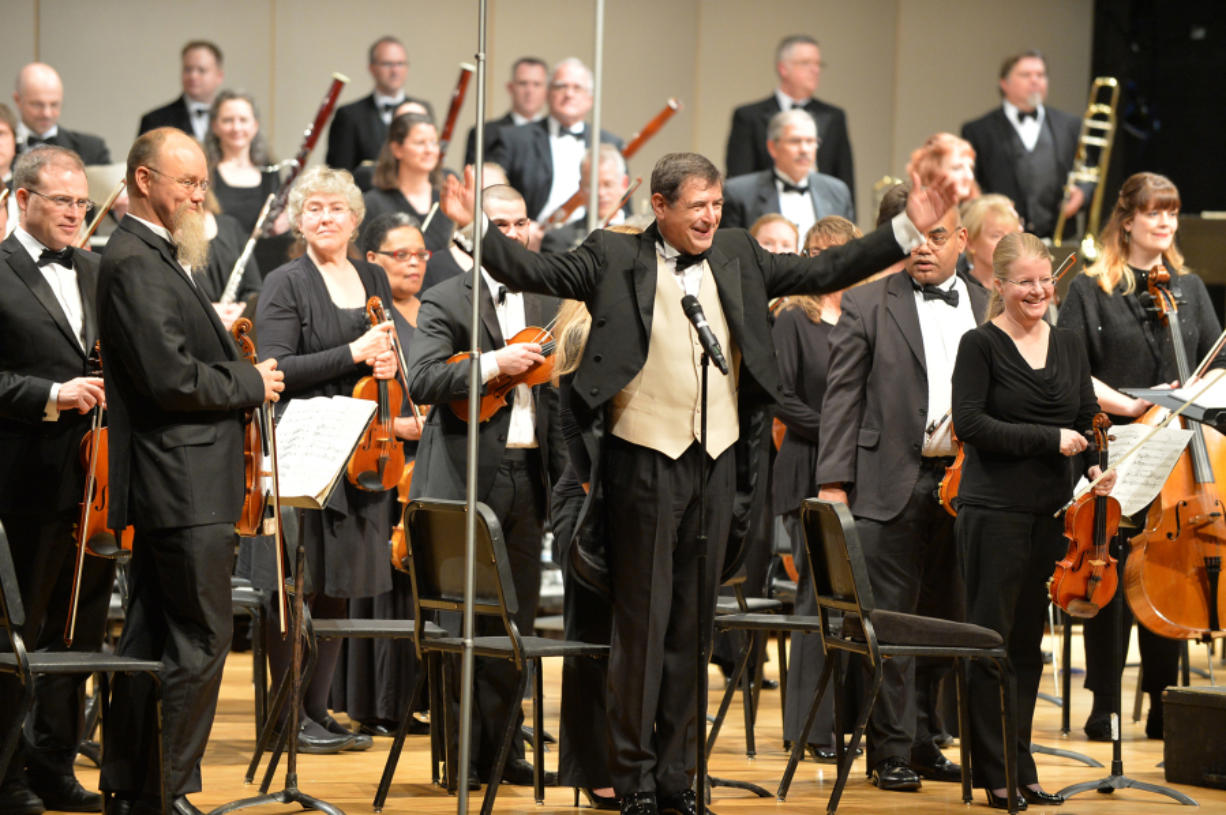 Maestro Salvatore Brotons will lead the symphony this weekend at the Skyview Concert Hall. (Paul Quackenbush)