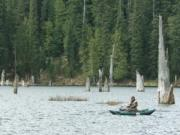 Goose Lake in the Gifford Pinchot National Forest already has been stocked with trout, with more on the way.
